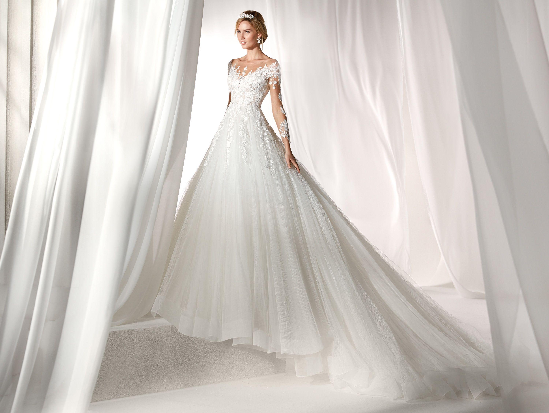 c2d5b2fe4934 Moda sposa 2019 - Collezione NICOLE. NIAB19139. Abito da sposa Nicole.