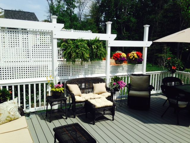 5 Ways To Care For And Clean Vinyl Lattice Outdoor Living Space