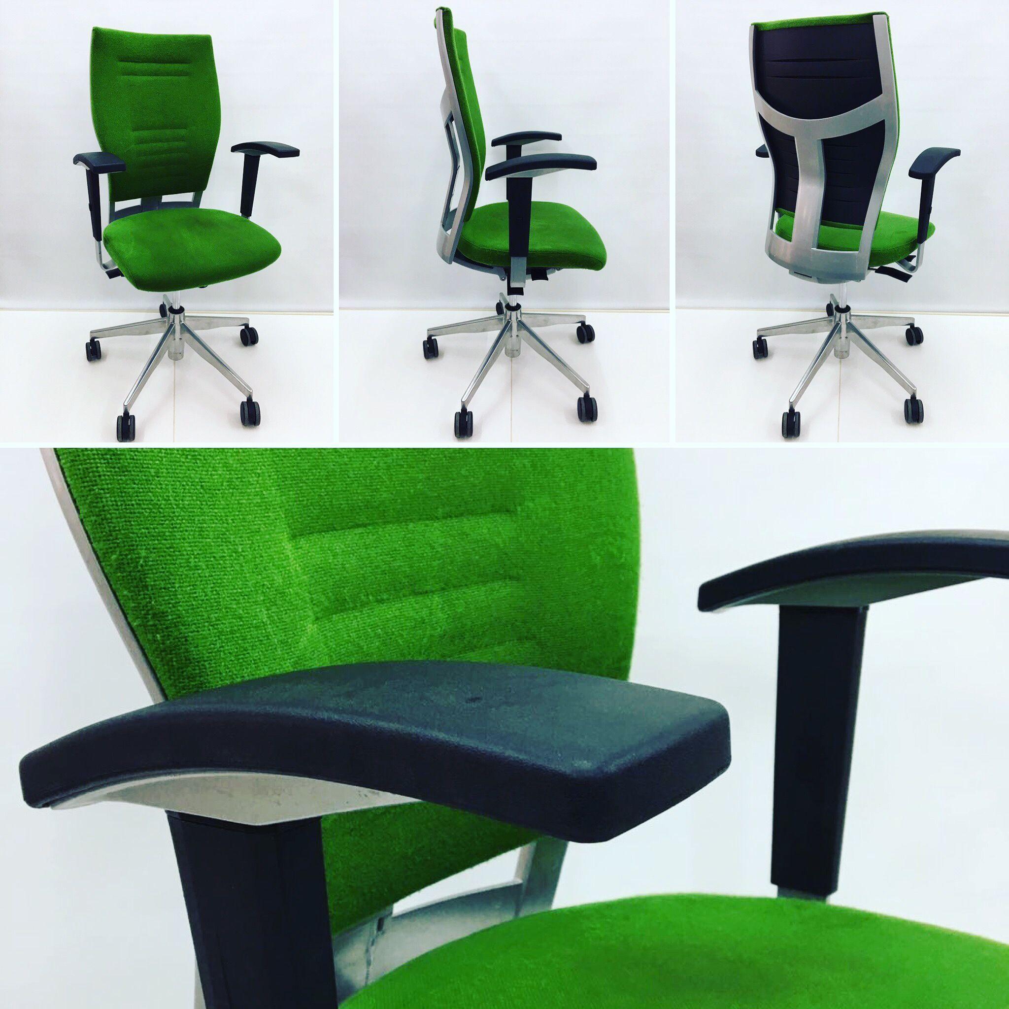 Silla verde #dynamobel 💯€ #ergonomica #outlet #silladeoficina ...
