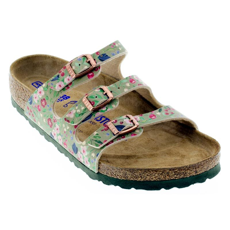 63a8958b15d These sandals are so versatile you can wear these just about anywhere.  Colorful meadow flowers