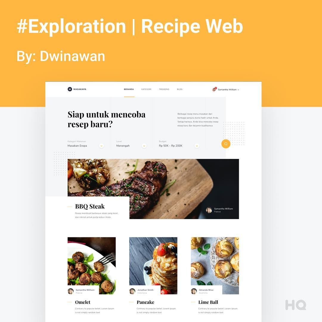 I Really Like The Card Designs Here Thoughts Exploration Recipe Webdesign By Dwinawan Link In Bio Follow For More Web App Design Web Design Card Design
