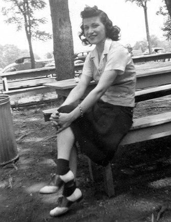 Bobby soxer - a bobby soxer was a nickname for teenage girls who would constantly wear ankle socks