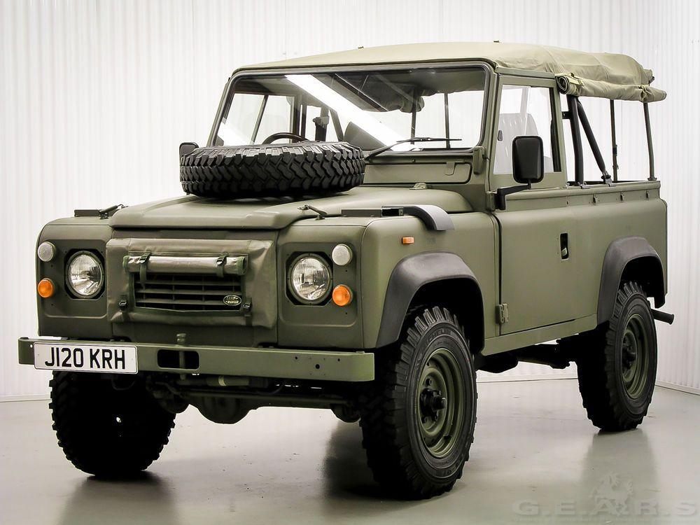 1992 Land Rover Defender 90 Soft Top Land Rover Defender 90 Soft