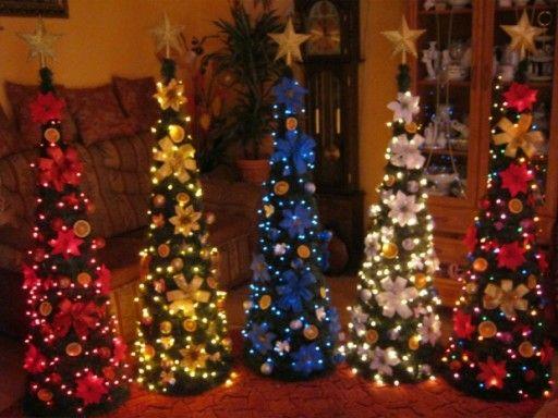 Choinka Stozek 80cm Udekorowana Led Nowoczesna 7043550571 Oficjalne Archiwum Allegro Christmas Tree Holiday Decor Christmas