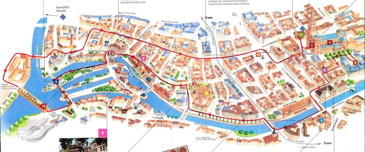 estrasburgo mapa Ruta Alsacia estrasburgo mapa | Sitios para disfrutar | Pinterest  estrasburgo mapa