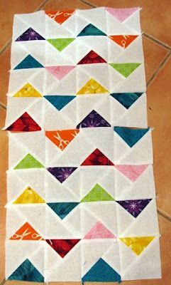 This could make not only a great block, but a fun border!