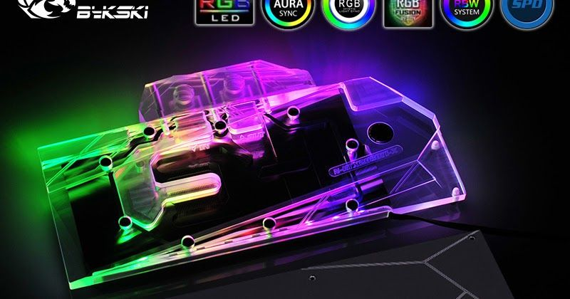 N Rtx2080ti X Bykski Gpu Cooler Compatible Nvidia Rtx 2080 Ti