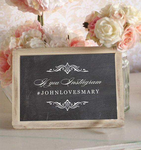 Hashtag Anniversario Matrimonio.Lavagnetta Vera Con Calligrafia Hashtag Sposi Fai Da Te Molto
