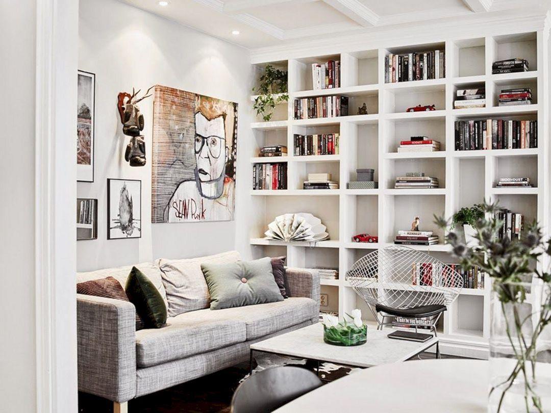 15 Gorgeous Bookshelf Decorating Ideas For Lovely Living Room Design Decor It S Bookshelves In Living Room Room Design Living Room Designs