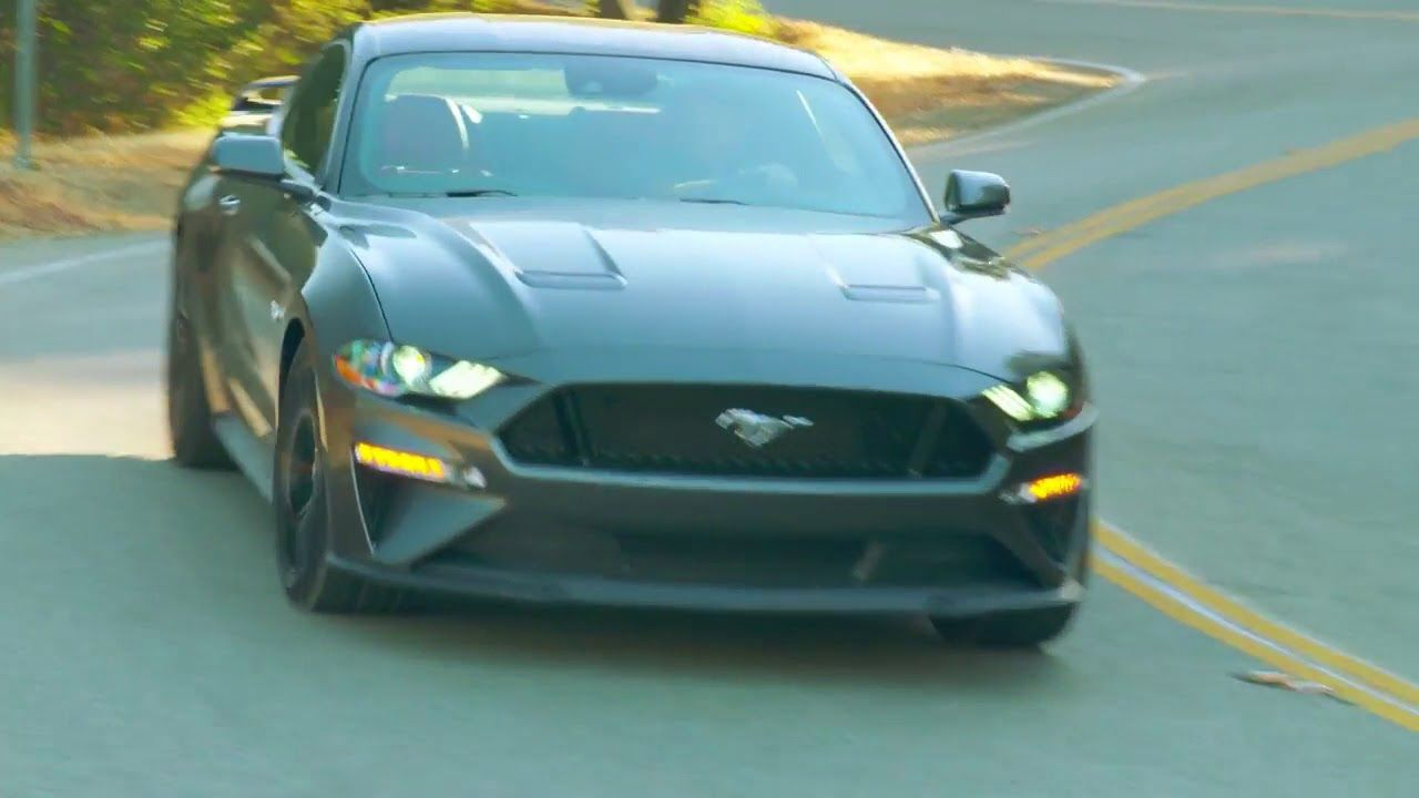 2018 FORD MUSTANG 5 0 V8 COUPE 460 HP DRIVING CLIP Ford