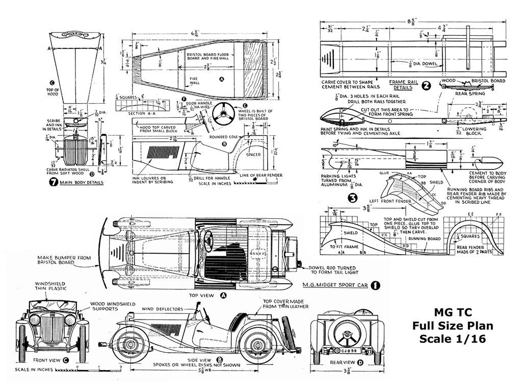 image result for auto model plans | wooden cars & trusk