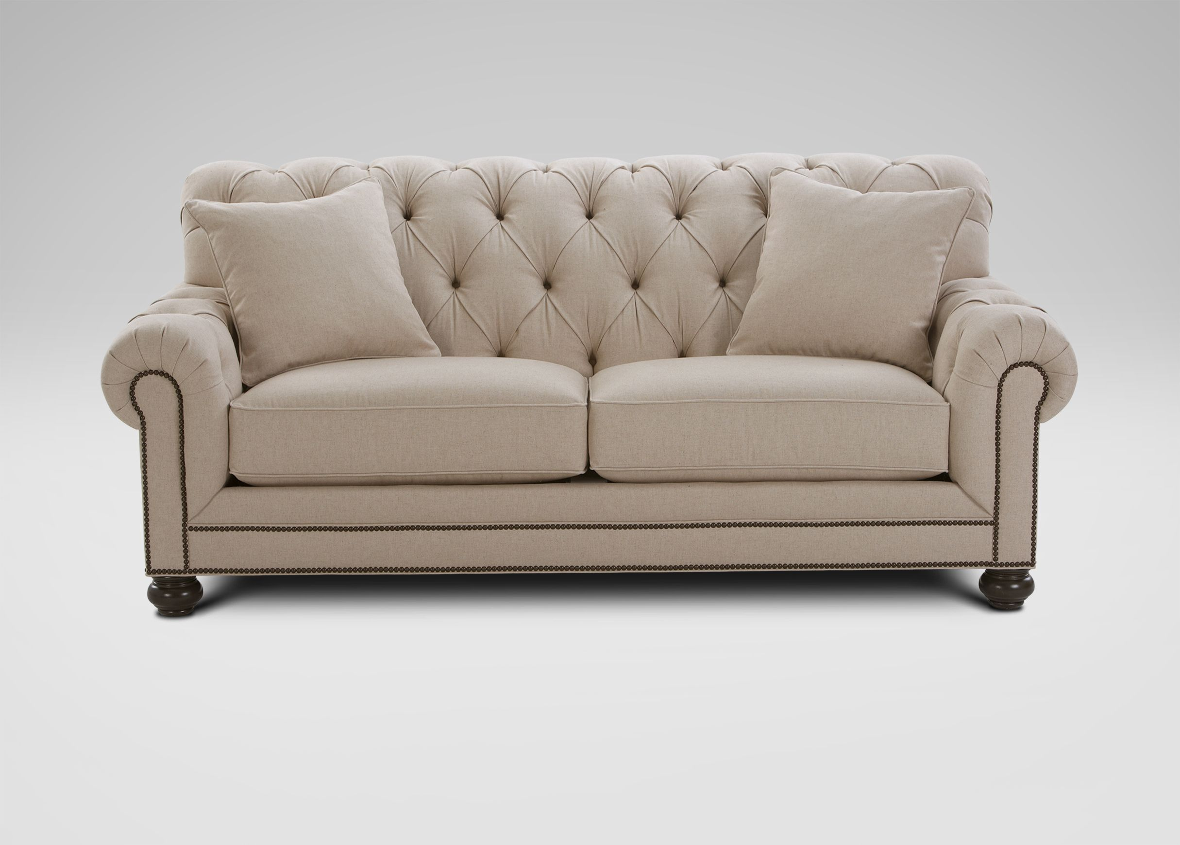 Ethan Allen Chadwick Sofa, Caron/Linen