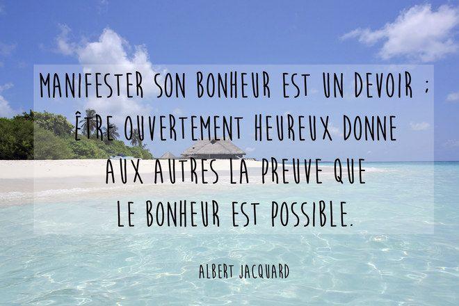 Connu Les plus belles citations sur le bonheur | Citation bonheur and  SD83