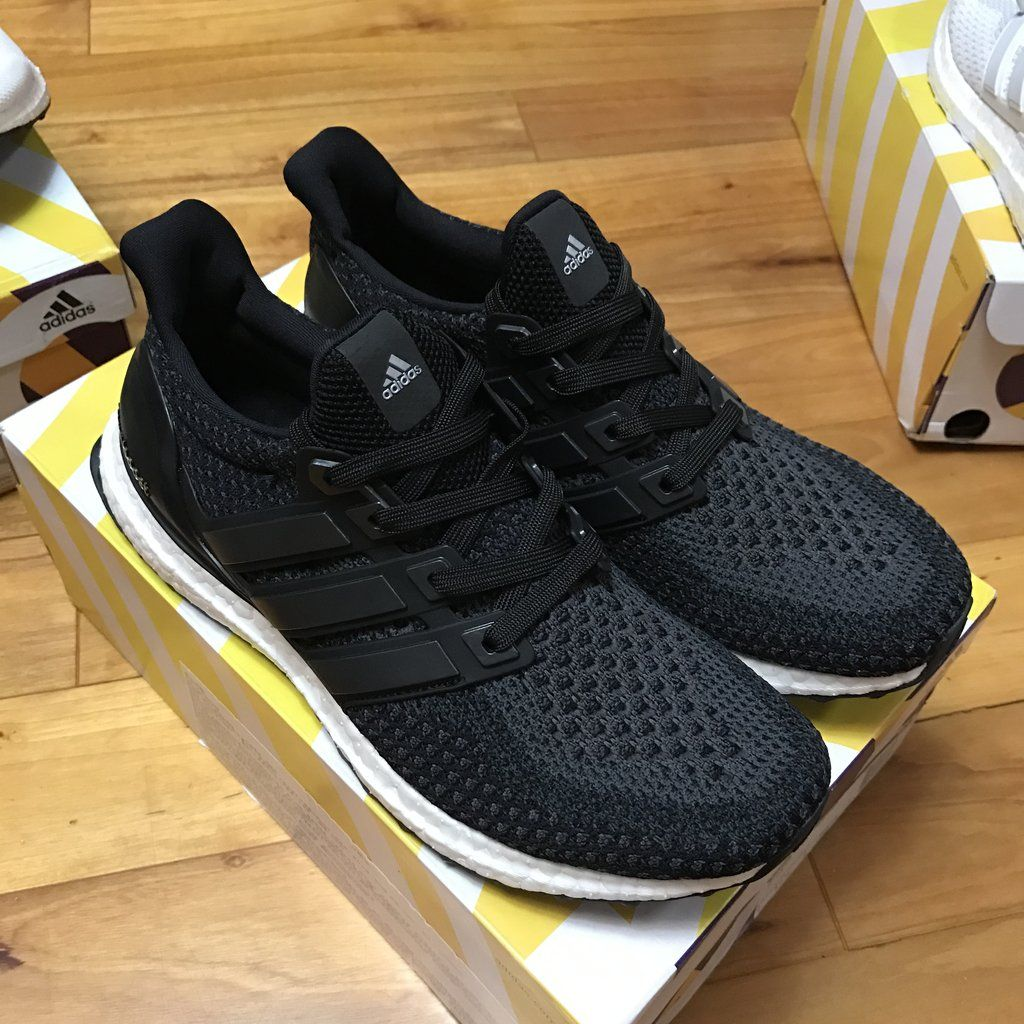 the best attitude f61ab 64d75 Adidas Ultra Boost Core Black White (2.0) BB3909   Shoes   Pinterest   Ultra  boost core black, Adidas and Black