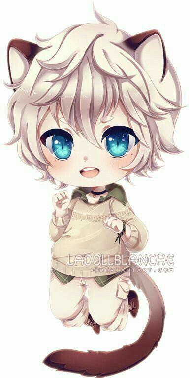 Scared Little Chibi