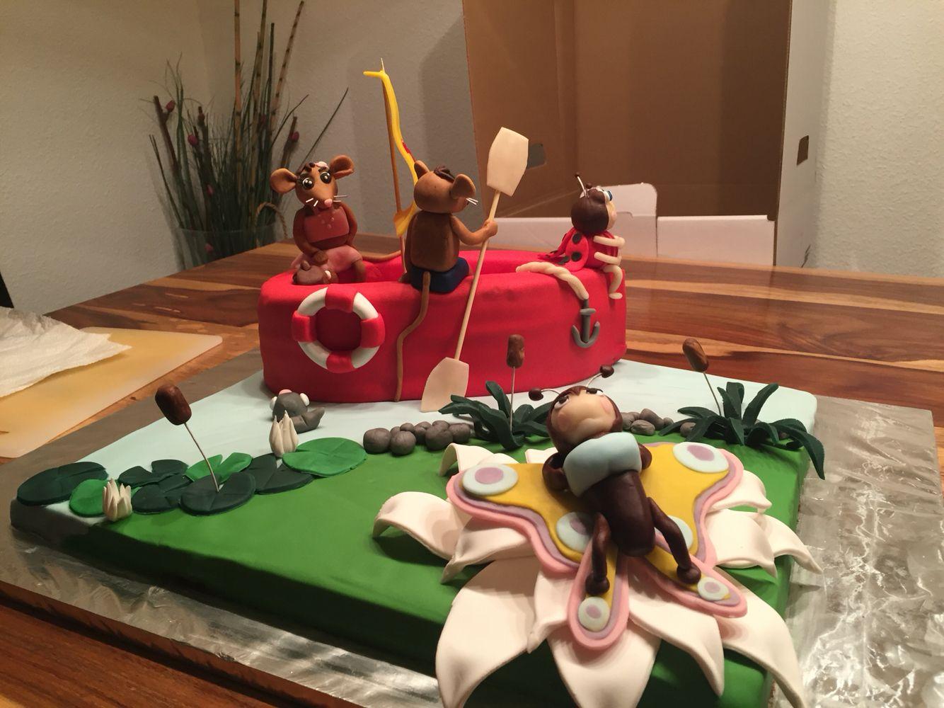 Jonalu Torte zum 3. Geburtstag