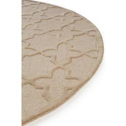 Photo of benuta Naturals Wollteppich rund Windsor Cream ø 120 cm rund – Naturfaserteppich aus Wollebenuta.de