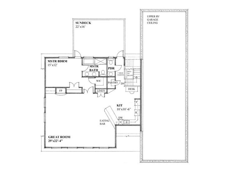 Unique Garage Plans Unique Garage Apartment Plan With Rv Bay 010g 0024at Thegarageplanshop Com Garage Plans Garage Apartment Plan Garage Design