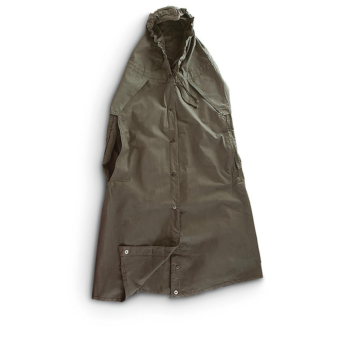 Sportsmanu0027s Guide has your 2 Used Russian Military Cavalry Ponchos Olive Drab available at a great price in our Rain Gear u0026 Ponchos collection  sc 1 st  Pinterest & Russian Cavalry Poncho Tent as poncho. | Apocalypse Bag ...