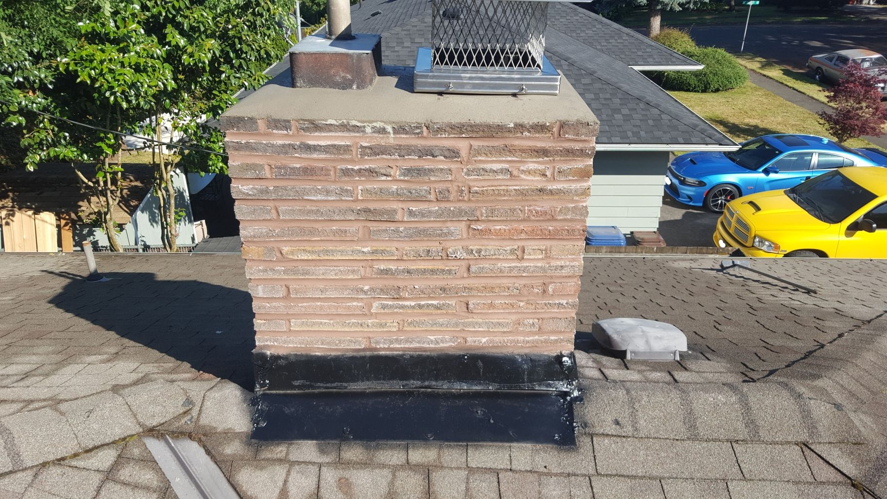 Another Successful Repointing Repair At Willamette Chimney 503