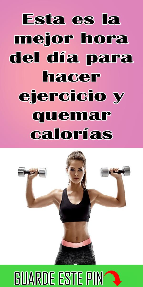 El mejor momento para hacer ejercicio para adelgazar