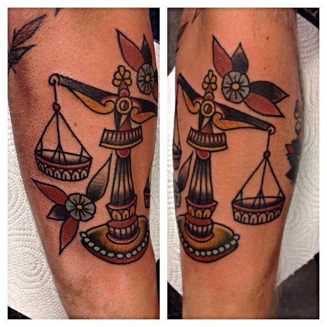 Libra tattoo 16