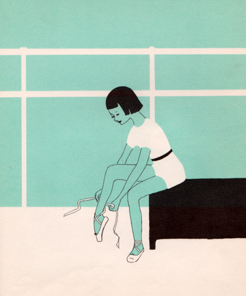 I Want to be a Ballet Dancer by Carla Greene, illustrated by Mary Gehr (1959)