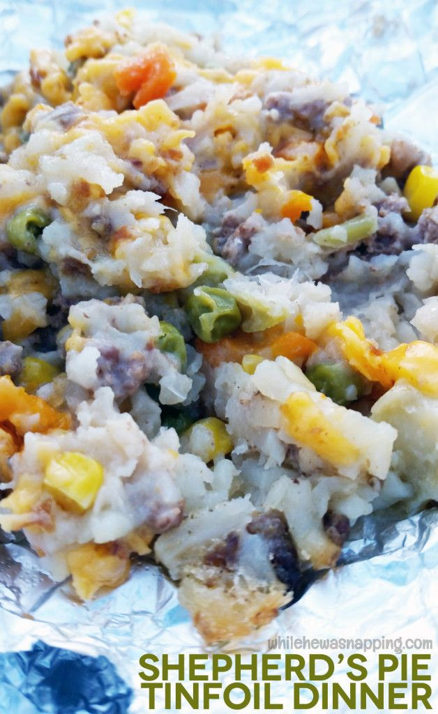 This easy and super delish dish is perfect for busy week nights, camping trips and make ahead meals!