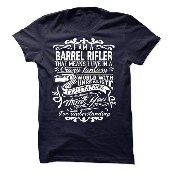 BARREL RIFLER - #pink shirt #ringer tee. MORE ITEMS => https://www.sunfrog.com/LifeStyle/BARREL-RIFLER-51139384-Guys.html?68278