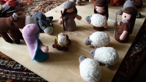Jozef, Maria en de Herders met Schapen.