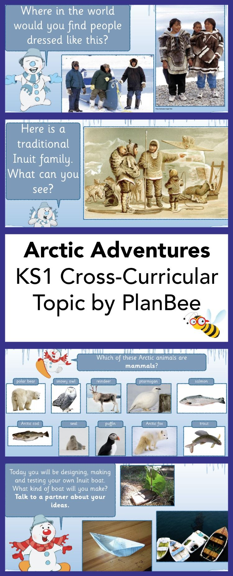 Arctic Adventures Topic Geography lessons, Arctic, Adventure