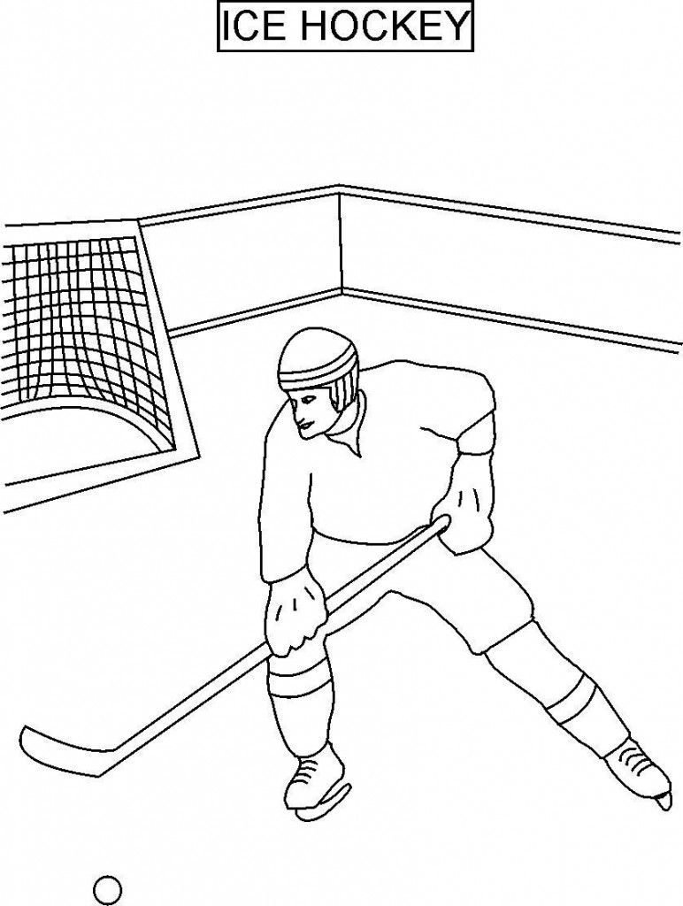 Free Printable Hockey Coloring Pages For Kids Hockey Kids Hockey Party Sports Coloring Pages