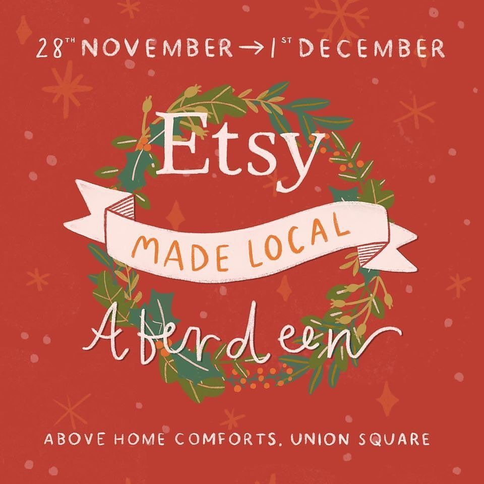 STARTS TODAY.Launch party 68pm mince pies mulled wine and goodie bags for the first 15 in .Etsy Made Local Aberdeen Union Square above Home Comforts28 Nov  1 DecThursday 68Friday  Saturday 105.30Sunday 114.. herestothegivers  EtsyMadeLocalUK  EtsyMadeLocalAberdeen aberdeenetsyteam  behindthescenes  silverzoo  Aberdeen  shopsmall  shoplocal  handmade
