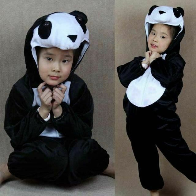 Christmas New Year Animals Cosplay Costumes For Kids Children Girls Boys Pig Cow