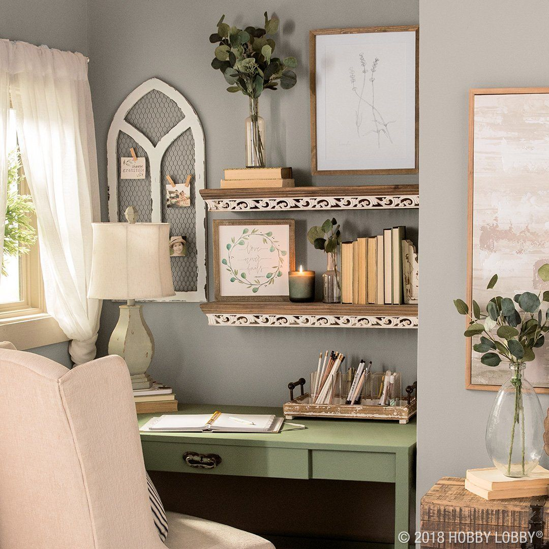 This Cozy Desk Nook Is All About The Chic Details—dainty