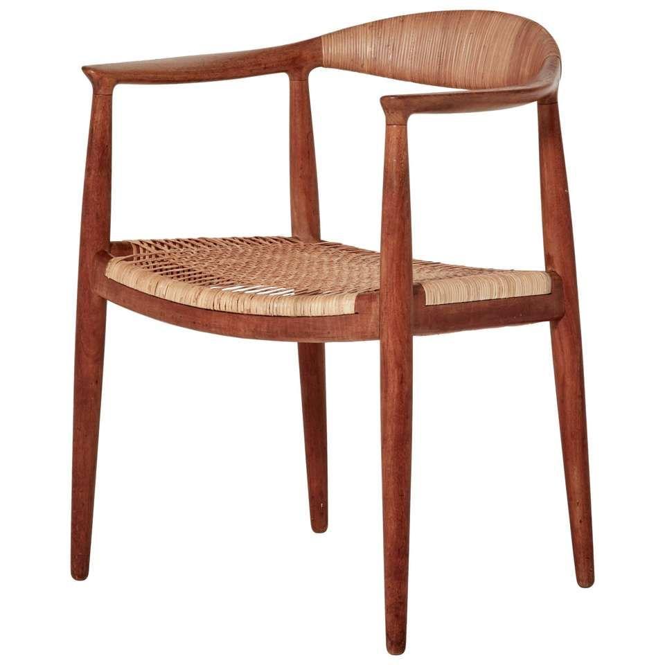Hans Wegner The Chair Model Jh501 Johannes Hansen Denmark