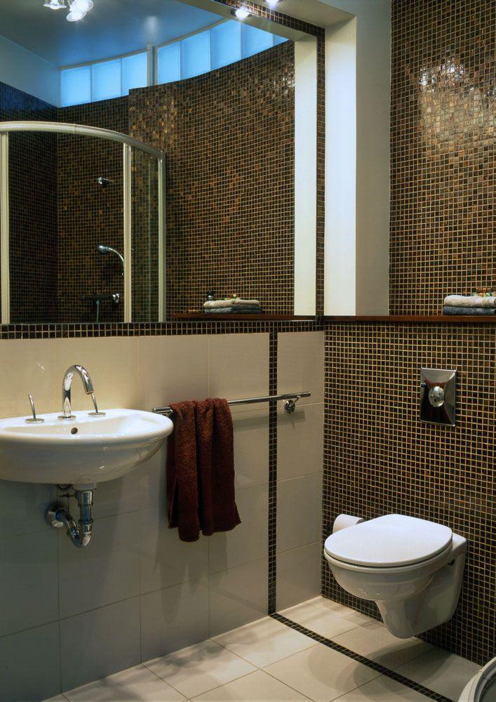 Mosaico veneciano en el ba o venecitas mosaicos for Revestimiento venecitas para banos