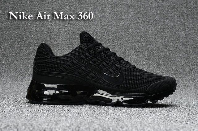 bd1c42f28830 Nike Air Max 360 Men s shoes Black