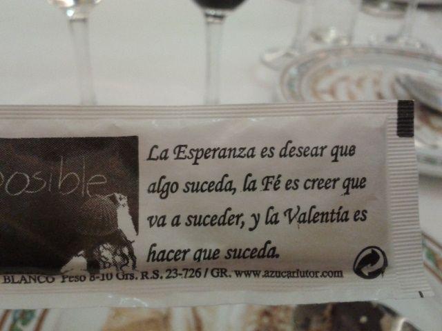 A La Hora Del Café Leo Las Frases De Los Azucarillos