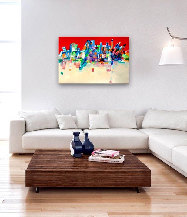 Abstract art / abstract painting / canvas art print - artistic way