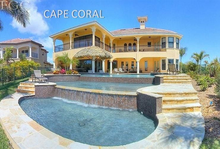 Cape Coral Florida Waterfront Homes For Sale Property Search In Cape Coral Fort Myers Fort Waterfront Homes For Sale Cape Coral Real Estate Waterfront Homes