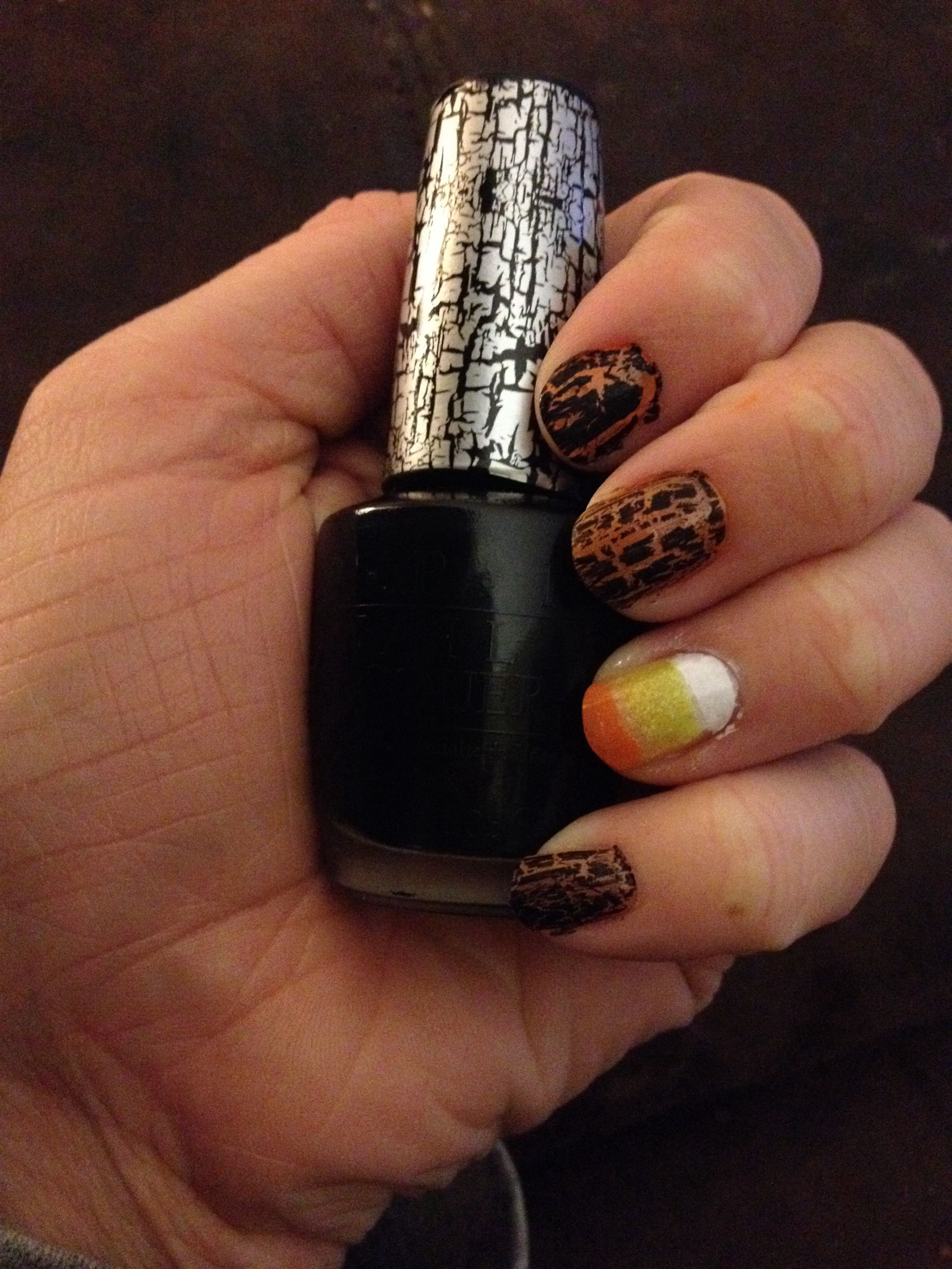 Opi in black shatter | My nail polish collection | Jewelry, Nail