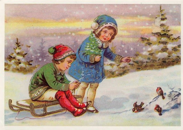 Pin by Jennifer Lowe on Vintage European Christmas photos ...