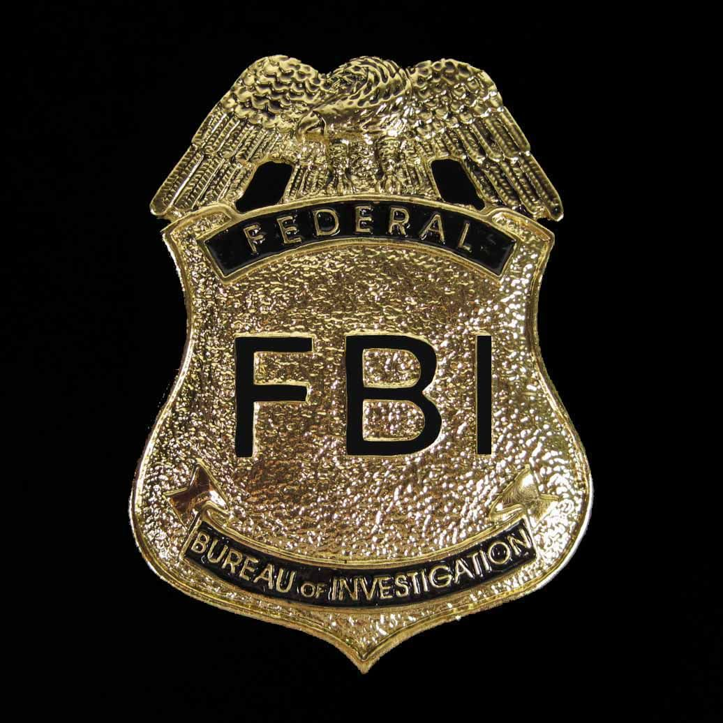 fbi police star details zu police cop metal badge with pin csi