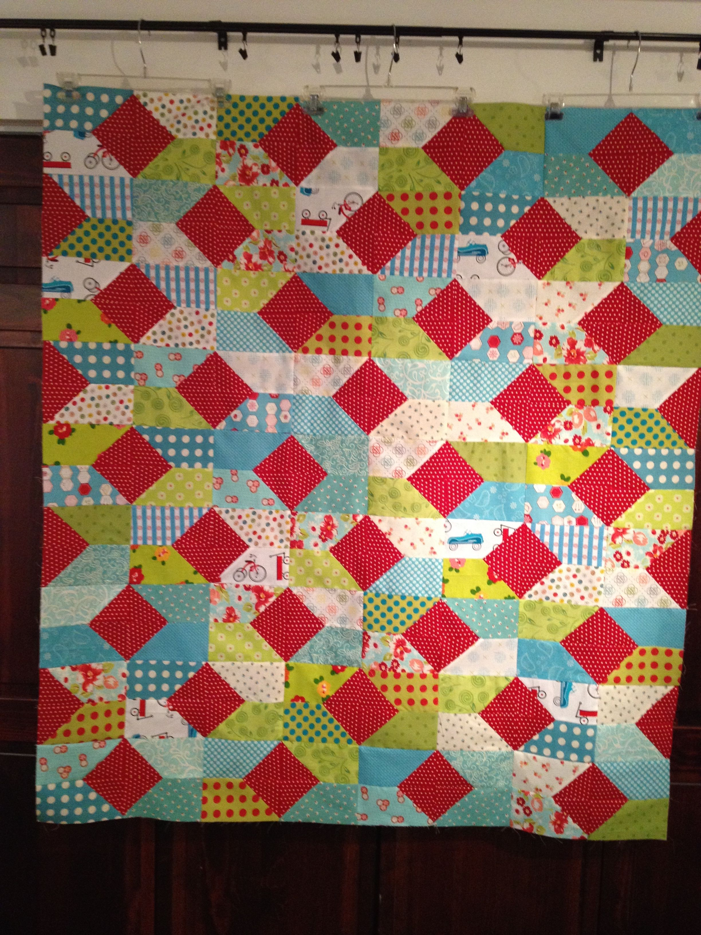 Rmm Quilt Seas The Day Pattern Variation Using Sizzix