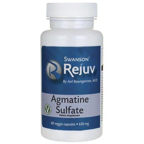 Swanson Rejuv Agmatine Sulfate 650mg 60 Veggie Capsules