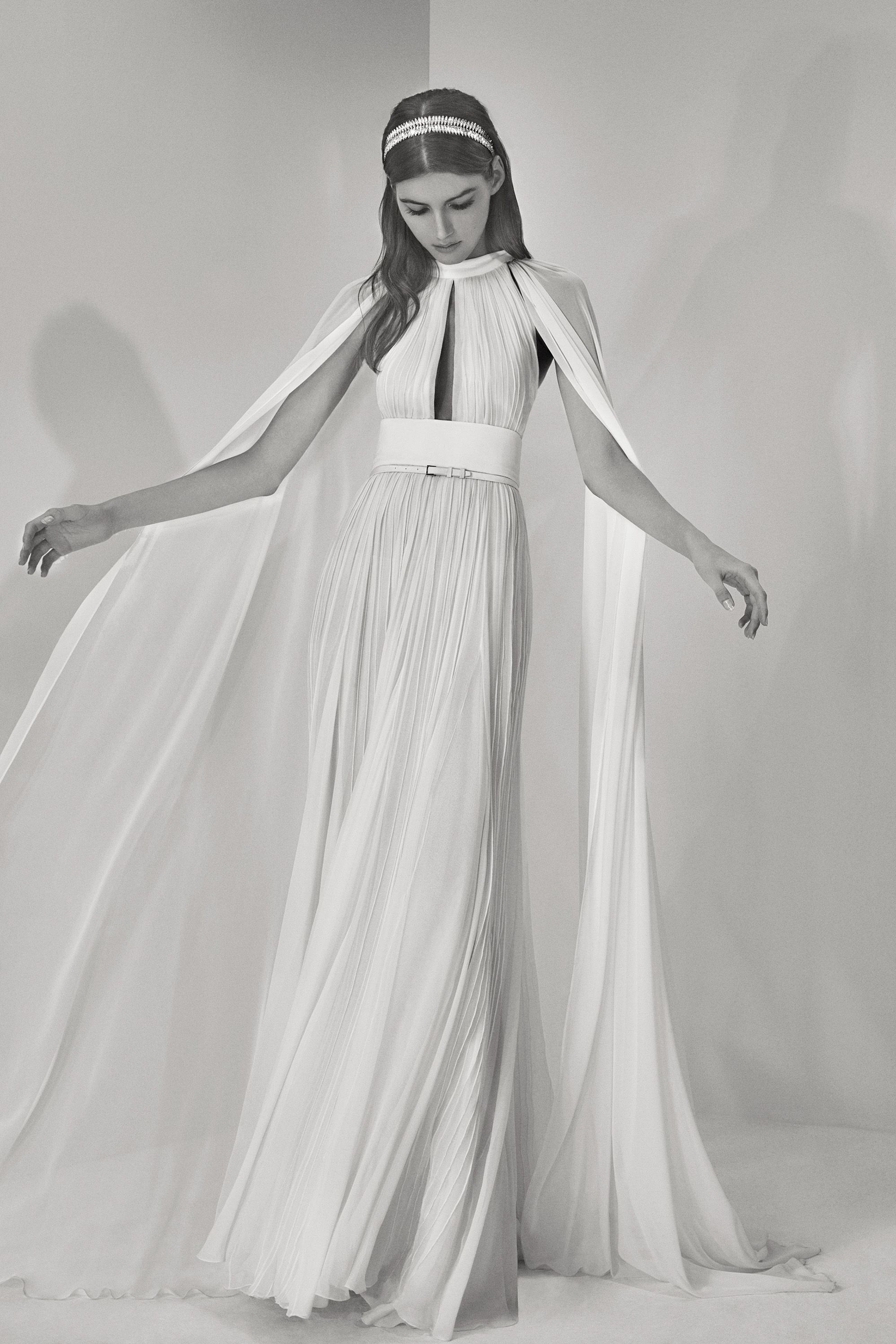 See every look from elie saabus second bridal collection elie saab