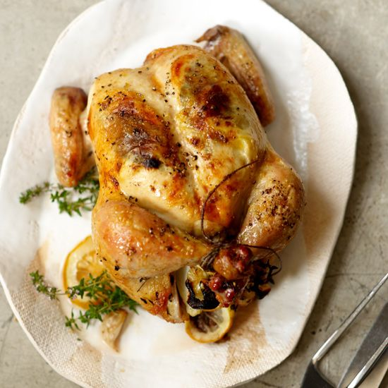 Roast Chicken Beginner Cooking Dishes And Wine