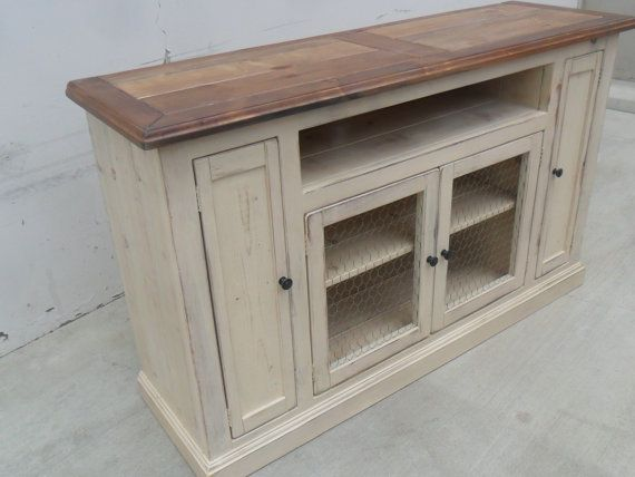 Media Console Tv Stand Reclaimed Wood Entertainment Center Etsy Wood Entertainment Center Farmhouse Tv Console Entertainment Center