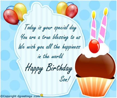 Birthday greetings son my birthday pinterest birthday sons birthday greetings son m4hsunfo